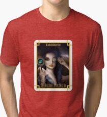 Gemstone Oracle Card - Illumination Tri-blend T-Shirt