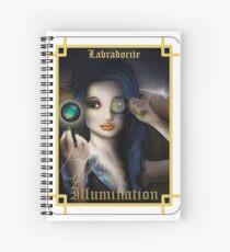 Gemstone Oracle Card - Illumination Spiral Notebook