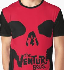 Venture Bros Red Skull! Graphic T-Shirt