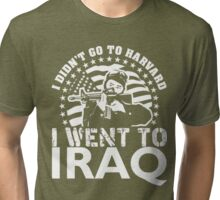 HARVARD $ IRAQ Tri-blend T-Shirt