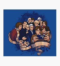 Doctor Who Selfie Photographic Print