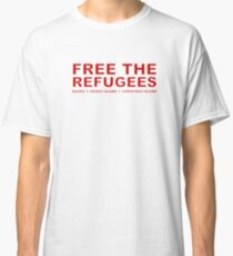 Free the Refugees Classic T-Shirt