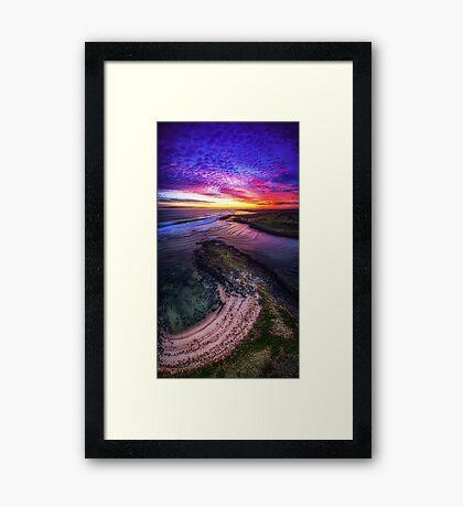 Passage Sunset - Port Fairy Framed Print