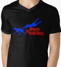 Still in education Men's V-Neck T-Shirt