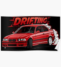 Lets Drifting Poster