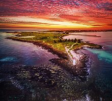 Griffiths Island, Port Fairy by hangingpixels
