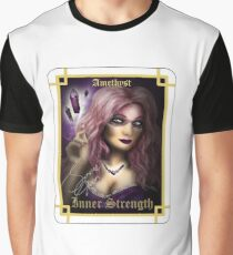Gemstone Oracle Card - Inner Strength Graphic T-Shirt