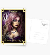 Gemstone Oracle Card - Inner Strength Postcards
