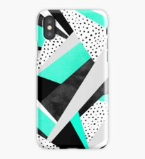 Crazy Fun Turquoise iPhone Case/Skin