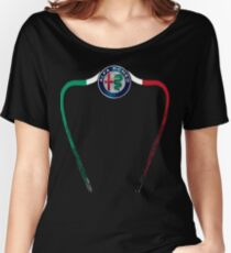 Alfa of Birmingham Tricolore Women's Relaxed Fit T-Shirt