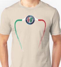 Alfa of Birmingham Tricolore Unisex T-Shirt