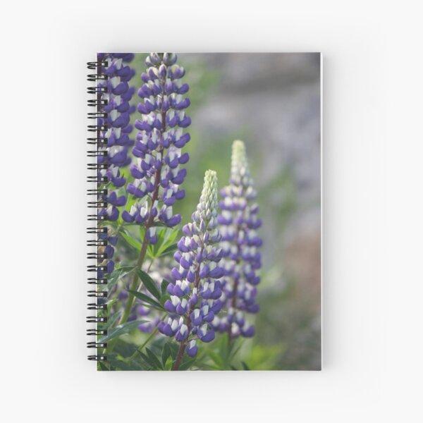 Lupin Spiral Notebook