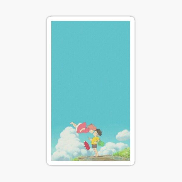 affiche de ponyo Sticker