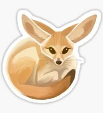 fennec (#154) Sticker