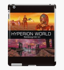 HYPERION WORLD SCIENCE FICTION Scifi iPad Case/Skin