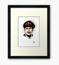 The Brigadier Framed Print