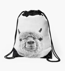 Alpaca Drawstring Bag