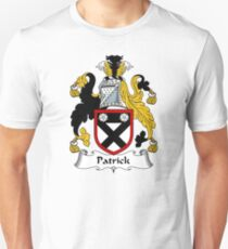 Patrick Coat of Arms / Patrick Family Crest Unisex T-Shirt