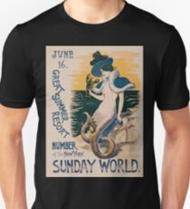 Artist Posters June 16 Great summer resort number of the New York Sunday World 0404 T-Shirt
