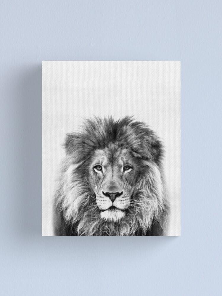 Alternate view of Lion Canvas Print