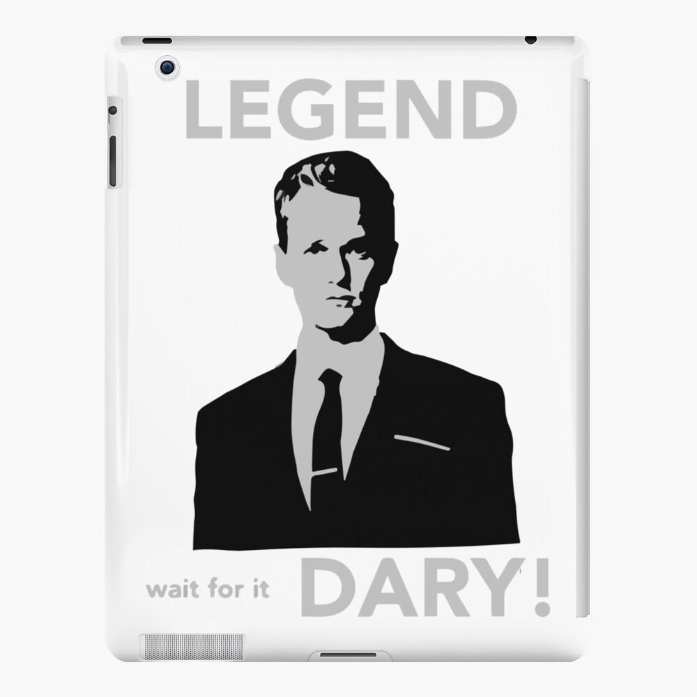 ¡Legendario! Funda y vinilo para iPad