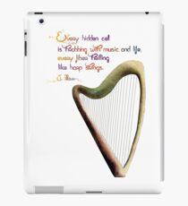 Celtic harp iPad Case/Skin