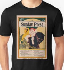 Artist Posters Sunday Press Special features for Nov 1 1896 0926 T-Shirt