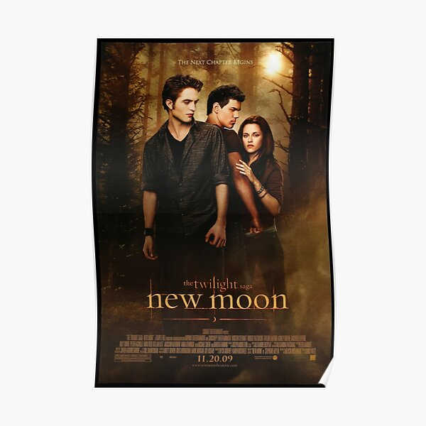 New Moon (Twilight) Poster Poster