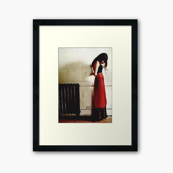 Mazzy Star - Robe rouge Impression encadrée