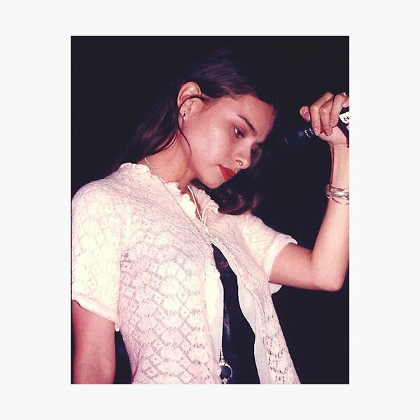 Mazzy Star - Hope Sandoval Concert Photographic Print