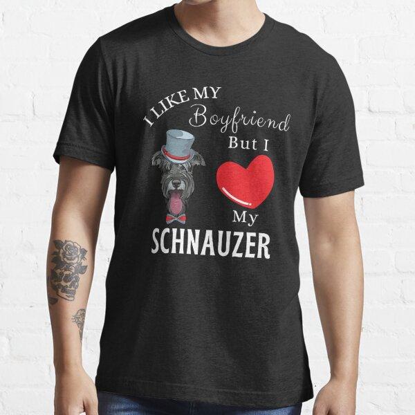I Love Heart My Schnauzer T-Shirt