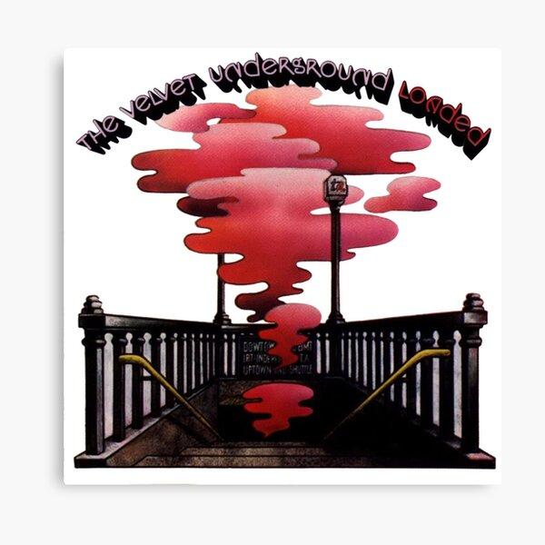 Velvet Underground Loaded Canvas Print