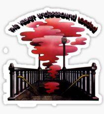 Velvet Underground geladen Sticker