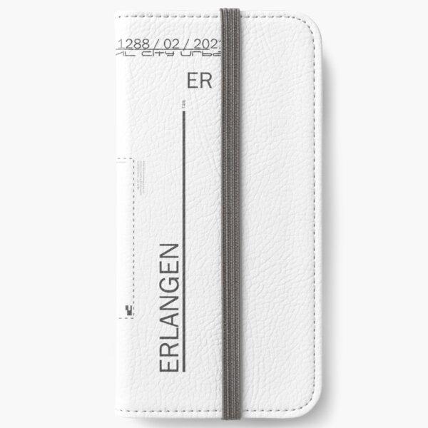 Erlangen iPhone Flip-Case