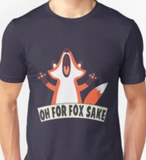 Camiseta unisex Oh por el sake de Fox