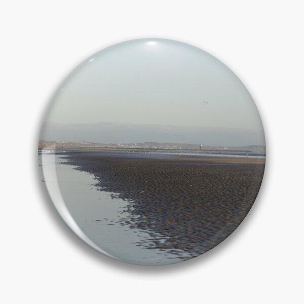 Irish Coast in Winter Pin