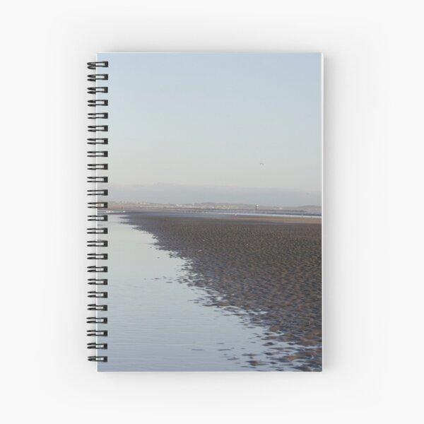 Irish Coast in Winter Spiral Notebook