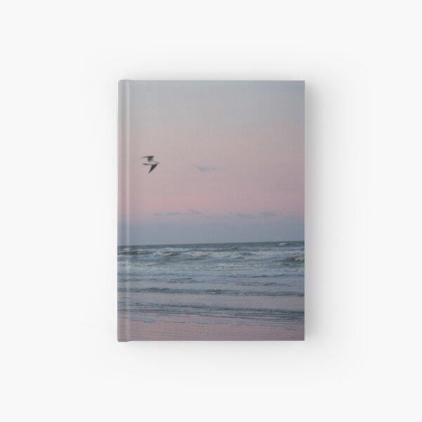 Winter Sunset on the Irish Coast Hardcover Journal