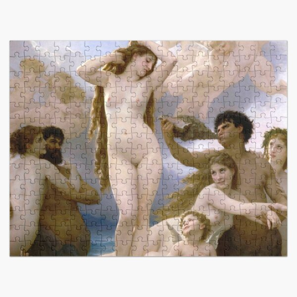 The Birth of Venus (Bouguereau) Jigsaw Puzzle