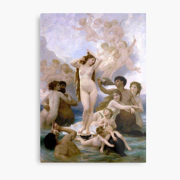 The Birth of Venus (Bouguereau) Metal Print