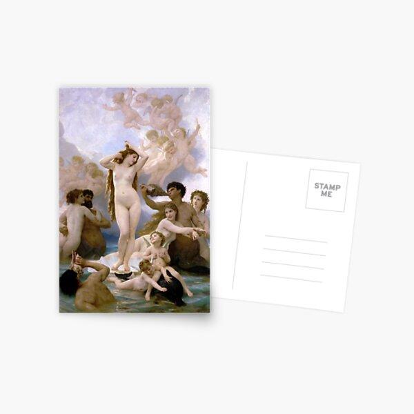 The Birth of Venus (Bouguereau) Postcard