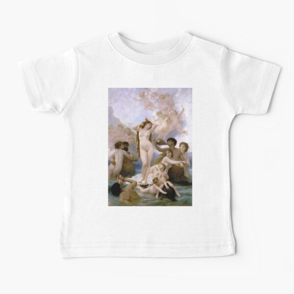 The Birth of Venus (Bouguereau) Baby T-Shirt