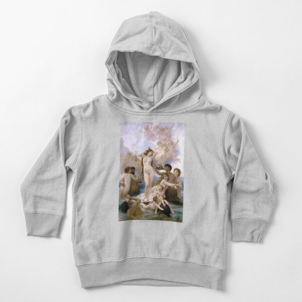 The Birth of Venus (Bouguereau) Toddler Pullover Hoodie