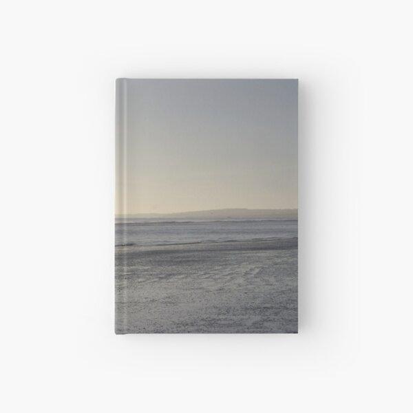 Irish Coast Calm Waves in Winter Hardcover Journal