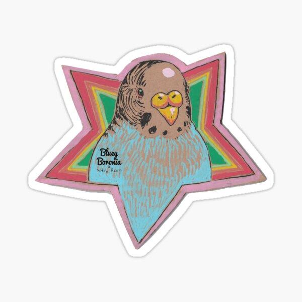 Bluey Boronia x Mitch Hearn (2020) Sticker