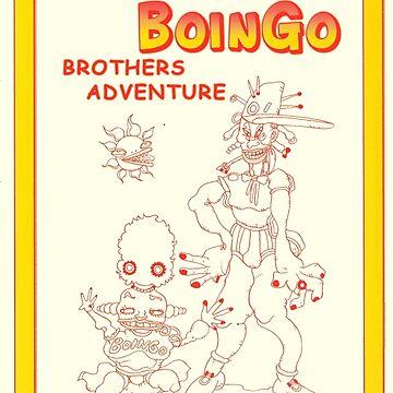 OINGO BOINGO BROTHERS ADVENTURE by hisoutensoku