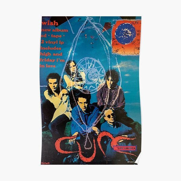 The Cure Poster Vintage Poster