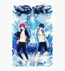 Free! - Haru & Rin Photographic Print