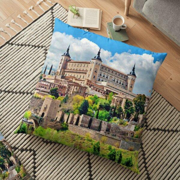 Toledo, Spain Floor Pillow