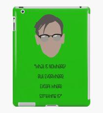 Gotham, Nygma, Quote iPad Case/Skin